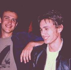 James Franco and Jason Segel from Freaks and Geeks