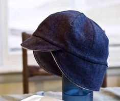 boys cycling cap - line with flannel or fleece for winter