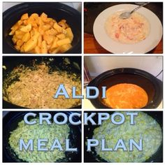 Wishes do come true...: Aldi Meal Planner-Crockpot Edition