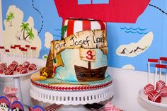 Pirate Birthday Party Ideas | Photo 9 of 27