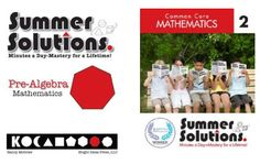 These books provide review and practice of all the math skills covered at the grade level just completed, as well as material covered in previous grades.  Both Common Core and Original Series are available for grades K-8