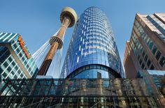 Reposting @sydneytowerbuffet: Sydney Tower from below - always an iconic sight! #instagood #photooftheday #instadaily #potd #love #sydney #australia #sydneyeats #visitnsw #followme #shoutout #sydnetower #delicious #yum #yummy #instafood #aus #travel #sydn
