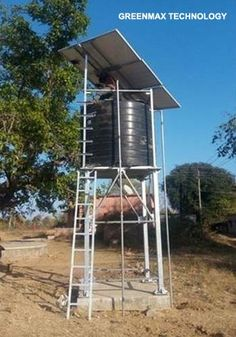 Solar Pump, Solar Water Pump, Solar Submersible Pump, Solar Pumping System Manufacturer & Supplier in India House Water Pump, Pump House, House Roof, Solar Powered Water Pump, Tank Stand, Submersible Pump, Water Collection, Solar Projects, Solar House