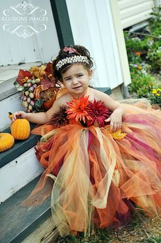 Fall Tutu Dress ..Adorable!!! http://www.facebook.com/craftybabydesignsbyashley