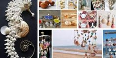 Handmade beach decoration: What you can do with seashells – 45 amazing DIY ideas for your home Ocean Crafts, Seashell Crafts, Diy Design, Design Ideas, Small Space Interior Design, Arts And Crafts, Diy Crafts, Beach Rocks, How To Make Diy