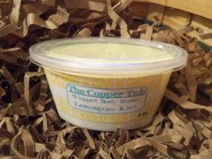 Whipped Body Butter - 2 Ounce - Half And Half Special Blend -Lemongrass Kiwi Fragrance via Etsy