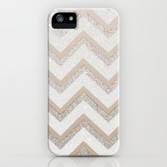 This is really pretty (if I ever switch)   NUDE CHEVRON iPhone & iPod Case by M✿nika  Strigel - $35.00