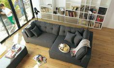 Canapé d'angle droit avec banc Coming - Canapés et banquettes - Canapés et fauteuils - Décoration d'intérieur - Alinéa