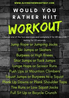 Hey guys I hope you had an awesome week This week flew by and I am ready to do a little bit of relaxing and cleaning my house I did manage to create this new HIIT workout for my class last week It was awesome I teach a 30 minute cardio cl - h Hitt Workout, Tabata Workouts, Hiit, At Home Workouts, Body Workouts, Workout Plans, Workout Ideas, Partner Exercises, Workout Fun