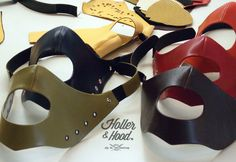 Each Holler&Hood mask is unic and handcrafted Dig the French way !!
