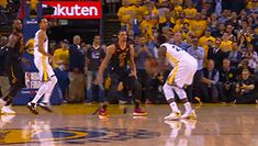 Draymond Green with the three! Stephen Curry Wallpaper, 2018 Nba Champions, Draymond Green, Golden State Warriors, Basketball Court, Gifs, Board, Sports, Presents
