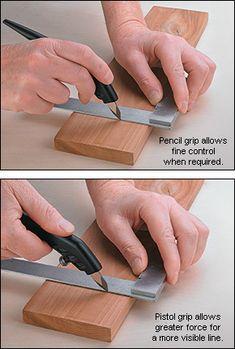 Veritas® Shop Knife - Woodworking