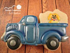Little Blue Truck cookies - just wow!
