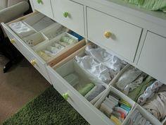 Baby Drawer Organization On Pinterest Baby Dresser