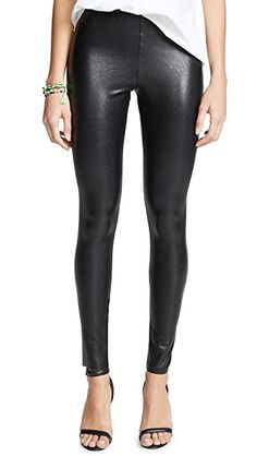 Perfect Control Faux Leather Leggings | #Leather_Leggings | #Leggings | Spanx Faux Leather Leggings, Leather Pants, Leather Outfits, Leather Fashion, Brooklyn Blonde, Sheer Clothing, Skin Tight, Leggings Fashion, Leggings Style