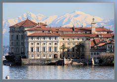Palazzo Borromeo, Isola Bella, Lago Maggiore.