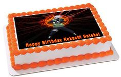 NARUTO 1 Edible Birthday Cake Topper OR Cupcake Topper, Decor