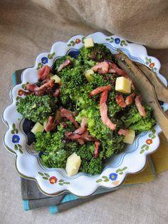 Salade de brocolis au cantal
