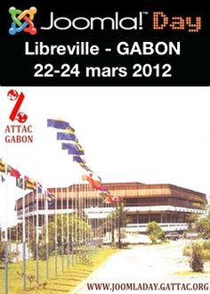 The first JoomlaDay has been organized in Central Africa in Libreville, Gabon