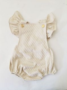 the most soft luxurious textured knit. adjustable straps with vintage gold buttons. ruffle-less bum.hand wash only. hang to dry. see size chart for sizing.please allow weeks construction time for your made to order piece. Baby Outfits, Kids Outfits, Toddler Outfits, Little Girl Fashion, Kids Fashion, Toddler Fashion, Fashion Dolls, Bebe Love, My Baby Girl