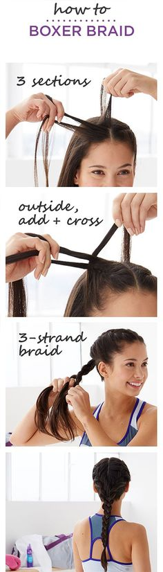 boxer-french-braids-ponytail-hack-tutorial