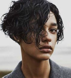 This short hairstyle is easy to make with the help of gel and foam that you will apply to the hair. After that, optional ruffle up your hair.