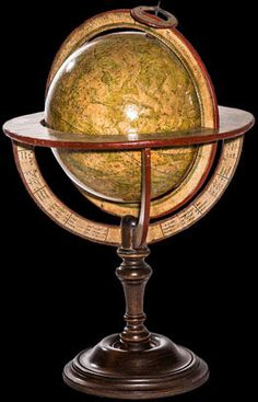 Globe céleste Fortin - Celestrial globe Fortin Delamarche Globes Terrestres, Map Globe, What A Wonderful World, Wonders Of The World, Instruments, Celestial, Antiques, Amazing, Interior Design