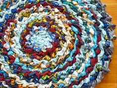 Country Crochet Rag Rug