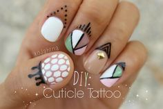 Cuticle Tattoos??!