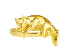 Butter Lane Conversions Collection, Antique Victorian 18ct gold Creeping Fox Ring c1900 by ButterLaneAntiques on Etsy https://www.etsy.com/listing/239535067/butter-lane-conversions-collection