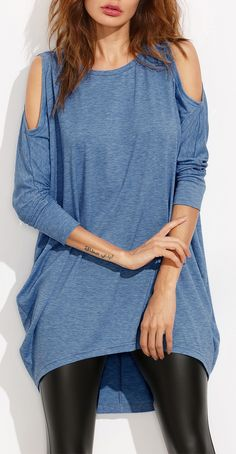 Must-have loose fit shirt for fall days. $10.99 with simple design & soft fabric.