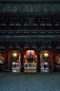 浅草寺/Senso-ji temple, Tokyo
