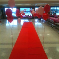 Use this as an entrance for a daddy-daughter dance and take pictures of the cute couple. Dad And Daughter Dance, Daddy Daughter Dates, Father Daughter Dance, Daughters Of The King, School Events, School Parties, School Dance Decorations, Ball Decorations, Reception Decorations