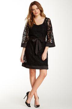 Miilla Belted Lace Dress by Miilla on @HauteLook