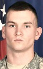 Army PFC Brett E. Wood, 19, of Spencer, Indiana. Died September 9, 2011, serving during Operation Enduring Freedom. Assigned to 1st Battalion, 5th Infantry Regiment, 1st Stryker Brigade Combat Team, 25th Infantry Division, Fort Wainwright, Alaska. Died of injuries sustained when an improvised explosive device detonated near his position during combat operations in Kandahar Province, Afghanistan.