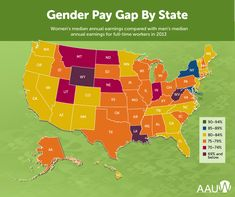 Why Are Women Paid Less than Men Are in My State? Location is everything. The old adage also applies to the gender pay gap. According to our research, where you live has everything to do with the pay gap you face! Refugee Rights, Wage Gap, Social Equality, Gender Pay Gap, Equal Pay, Old Adage, Freedom Of Movement, Equal Rights, Previous Year