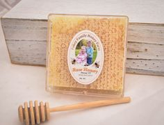 raw Vermont wildflower comb honey honey by FaheyFamilyHoneyFarm