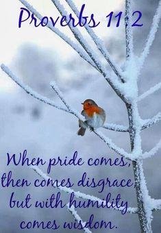 Pride/humility