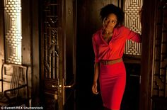 The £4,500 machine, which Naomie, pictured in Skyfall, has installed at her North London h...