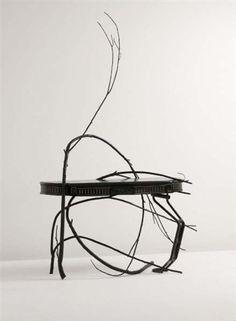 vincent dubourg, table sculpture