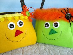 Treat Bags Sewing Pattern for Scarecrow and by preciouspatterns