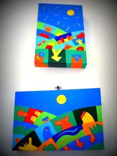 """Coco Cano, """"Pajsaies"""" exhibition @evvivanoé esposizioni d'arte in cherasco (Cuneo)"""