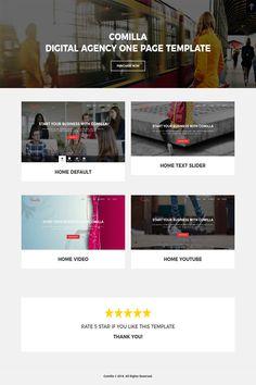 #DigitalAgency #Joomla #joomlatemplate #website #digitalagencytemplate