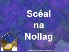 Scéal na Nollag ar Powerpoint