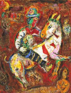 The Horseman, 1966 by Marc Chagall from Milwaukee Art Museum