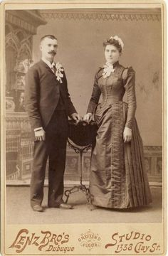 Theresa and Joseph, 1888 Dubuque, Iowa