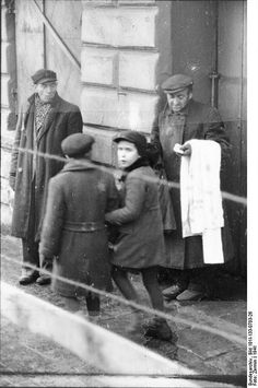 Litzmannstadt ghetto in Poland (1941)