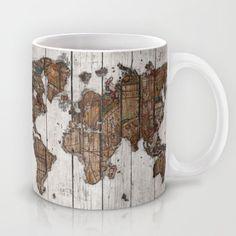 Vintage World Map Mug,Tea Mug World Map,Travel Mug,Travel Coffee Mug,Ceramic Mug Unique Coffee Mug, Drinking Mug, Thanksgiving Gift by Doufaith on Etsy https://www.etsy.com/listing/254711192/vintage-world-map-mugtea-mug-world