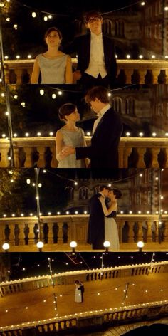 Eddie Redmayne & Felicity Jones as Stephen Hawking & Jane Wilde - The theory of everything