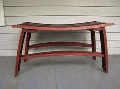 Wine Barrell Bench...